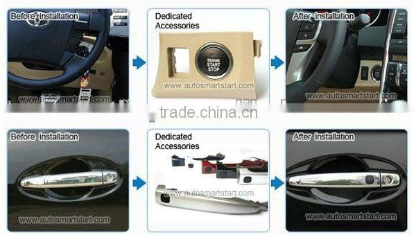 car alarm system remote starter passive keyless entry for