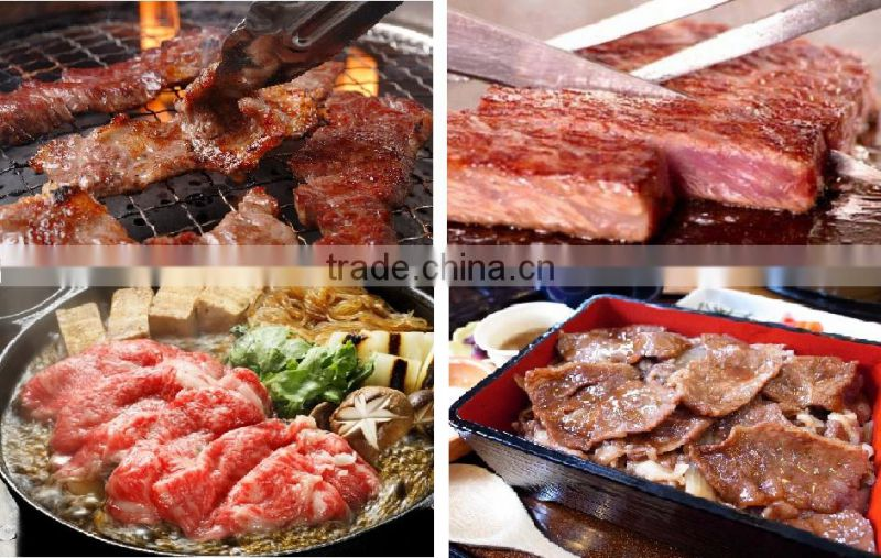 High quality and Preminum Japanese food wholesale, meat at high cost