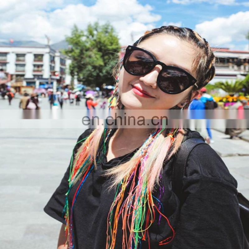 Alibaba new arrival colorful hot selling beautiful synthetic dreadlock hair extensions bulk