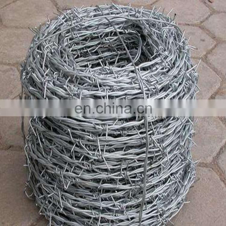High-Tensile Hot-Dipped Galvanized Barbed Wire For Fence Protection