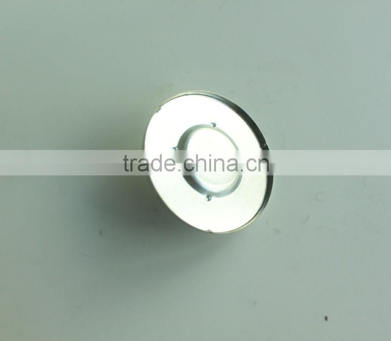 Round rubber glass shower door stopper
