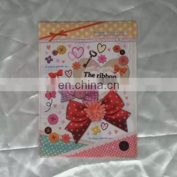 China Manufacture custom printed a4 size plastic file folder sheets