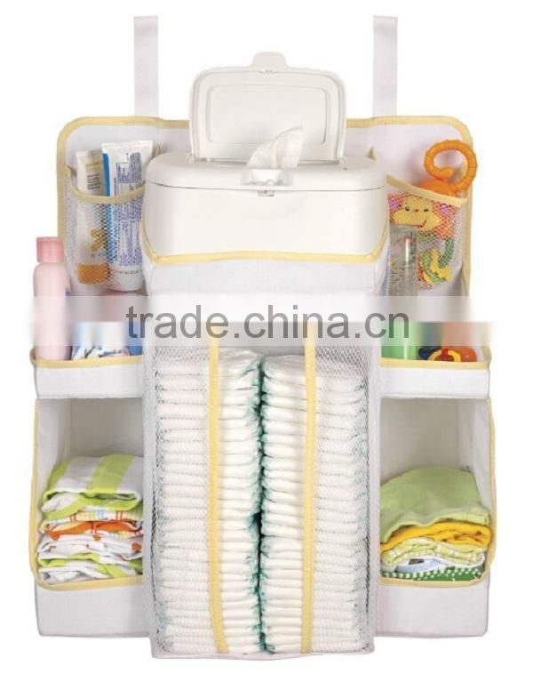 Diapers Organizer Baby Bed Hanging Bag Portable Storage