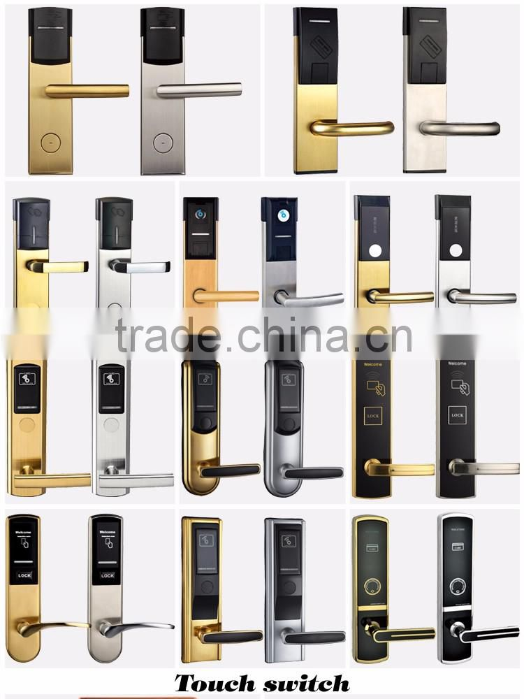 low price card security electric handle safe digital hotel