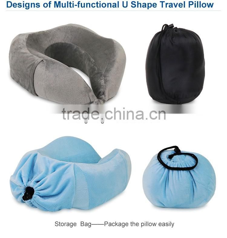 China factory new design u shape travel neck pillow