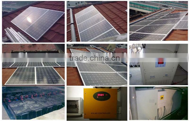 BESTSUN 20000W Factory price 20KW full power solar panel/inverter/controller/battery complete set off grid home solar system