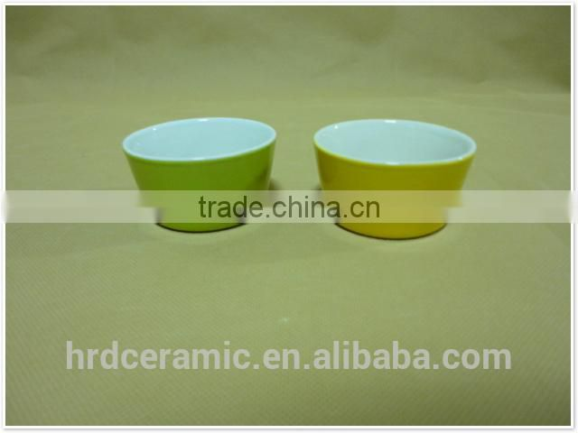 korean ceramic hand custom printed porcelain ceramic bowls
