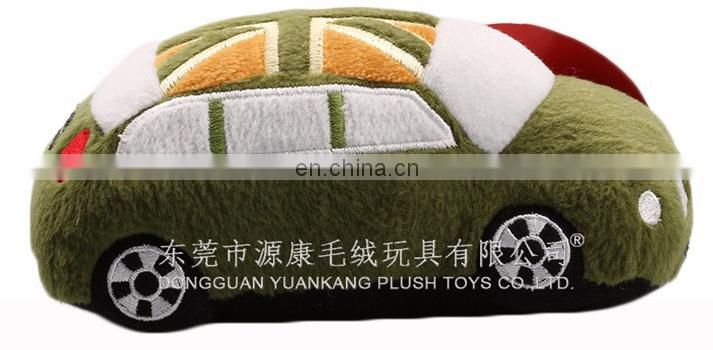 Cusom Plush Stuffed Educational Car Toy for Baby