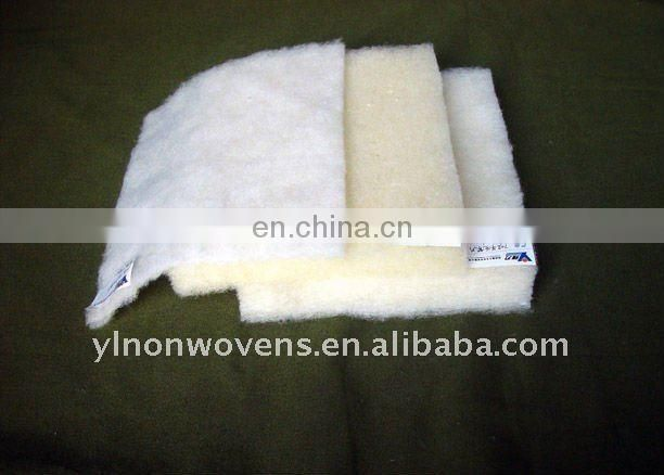 Coldproof/anti-bacterial 70% wool 30%polyester wadding for filler of warm clothing, garment, quilt, outdoor clothing