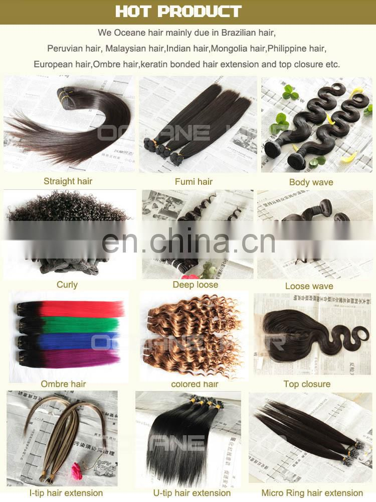 100% virgin chemical free darling hair extension, remy curly hair weaves