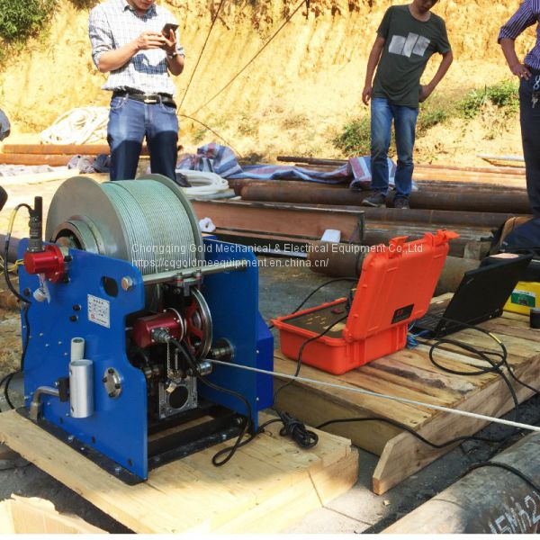 Geophysical Borehole Integrated Digital Control Logging Equipment System Image