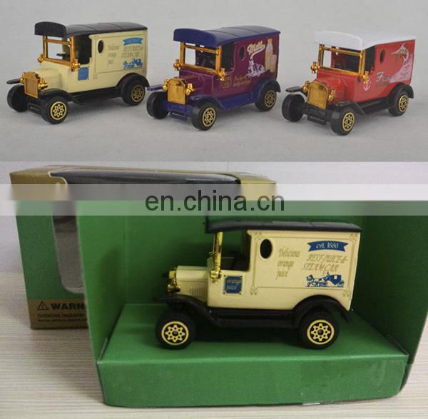 High quality sliding diecast antique car toys