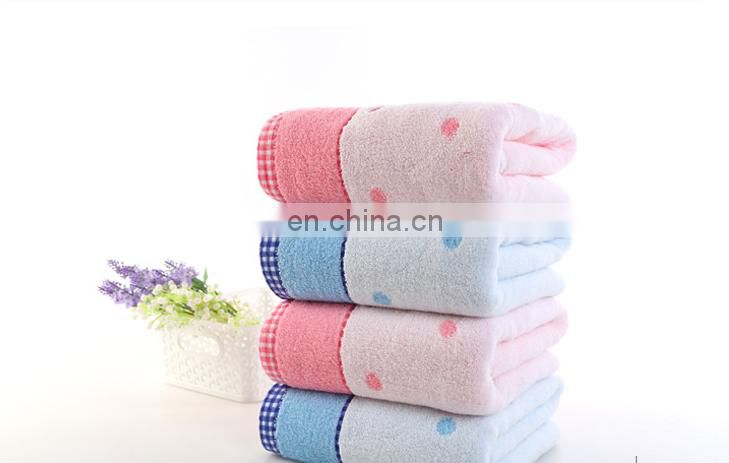 Wholesale 100% cotton towels soft and beautiful hand towels 34*34cm 50g