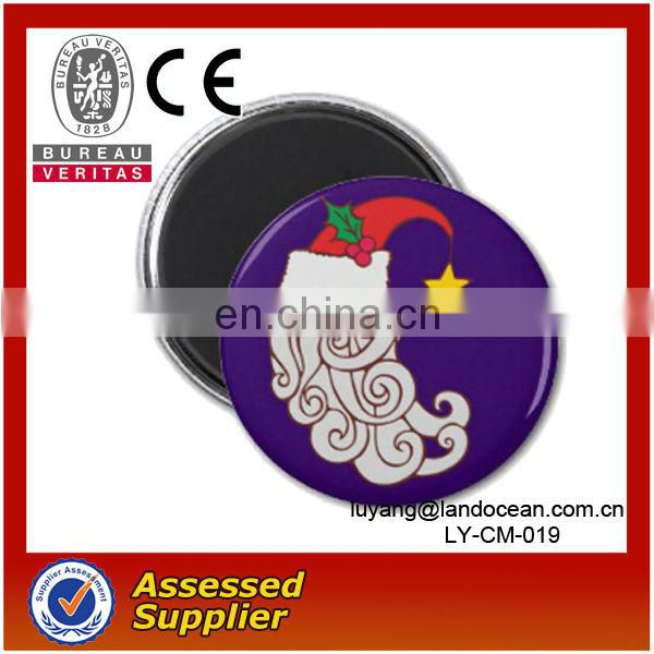 Mirror Back Magnetic Tin Button Badge