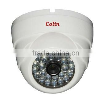 Colin Supply white light 700tvl dome cctv security camera day night ccd camera
