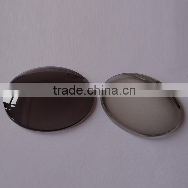 1.523 mineral glass material sunglass lenses