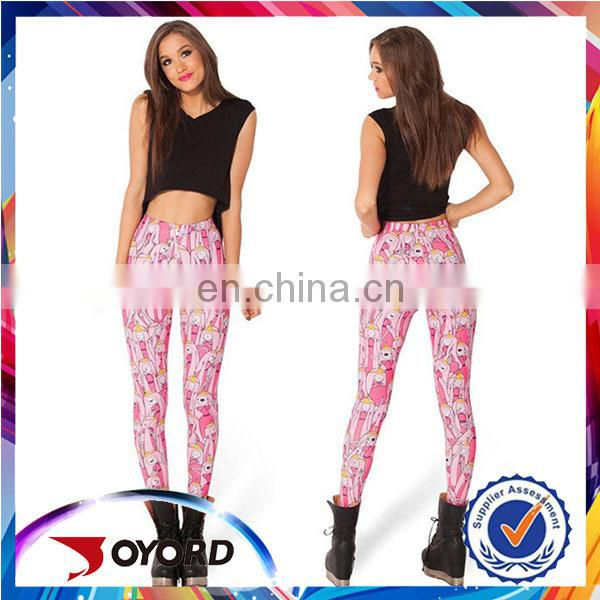 custom sublimation print Pattern Women leggings Indian Girls Wearing Leggings