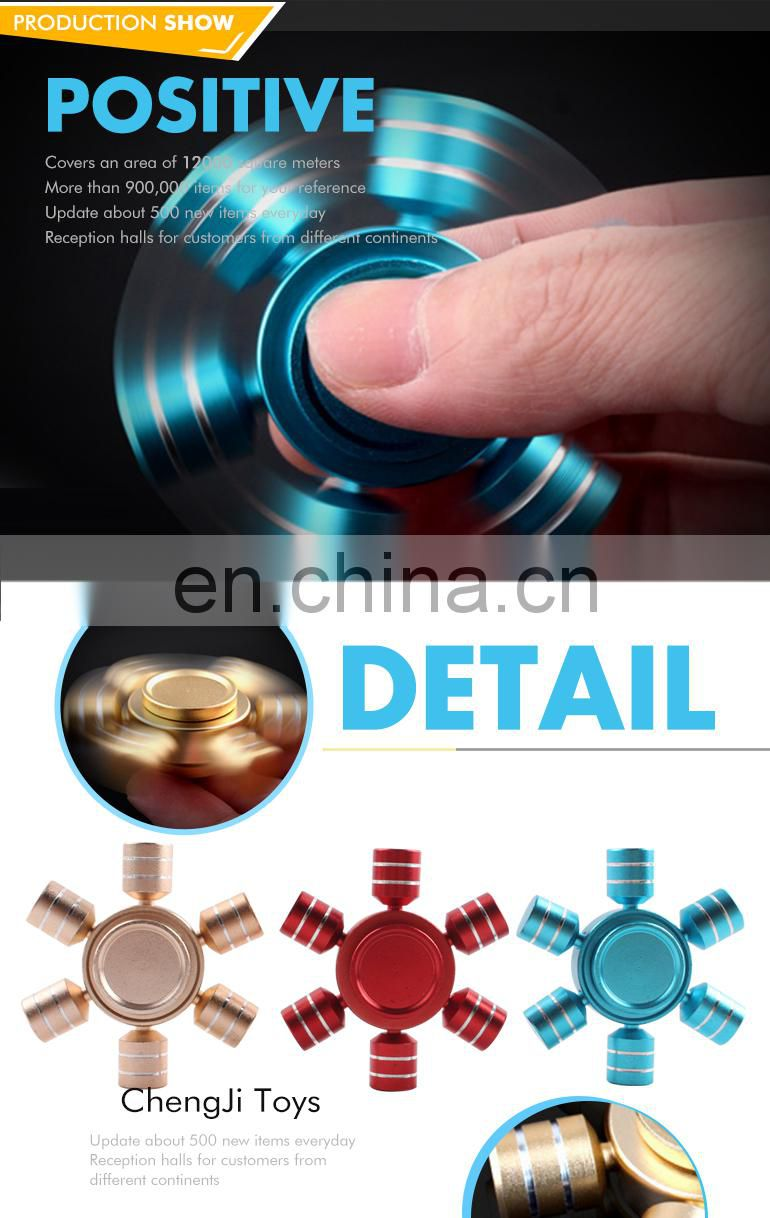 Hot selll item hand spinner metal spinner pouch for sale