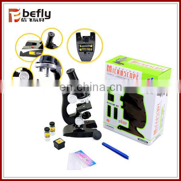Educational science microscope kit toys for kid