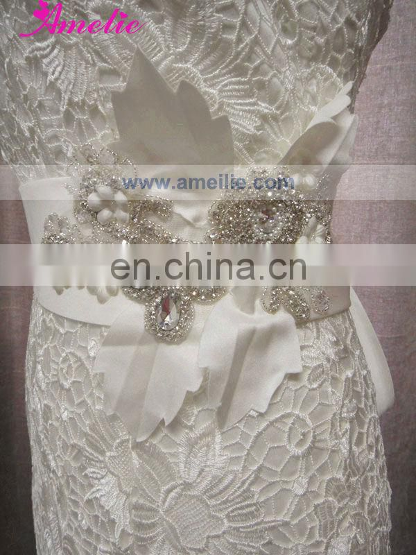 AC1056 Fitted Venice Lace Real Photos Wedding Dress