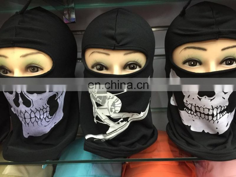 Fashion Customized Full Face Mask Skull Printed Balaclava