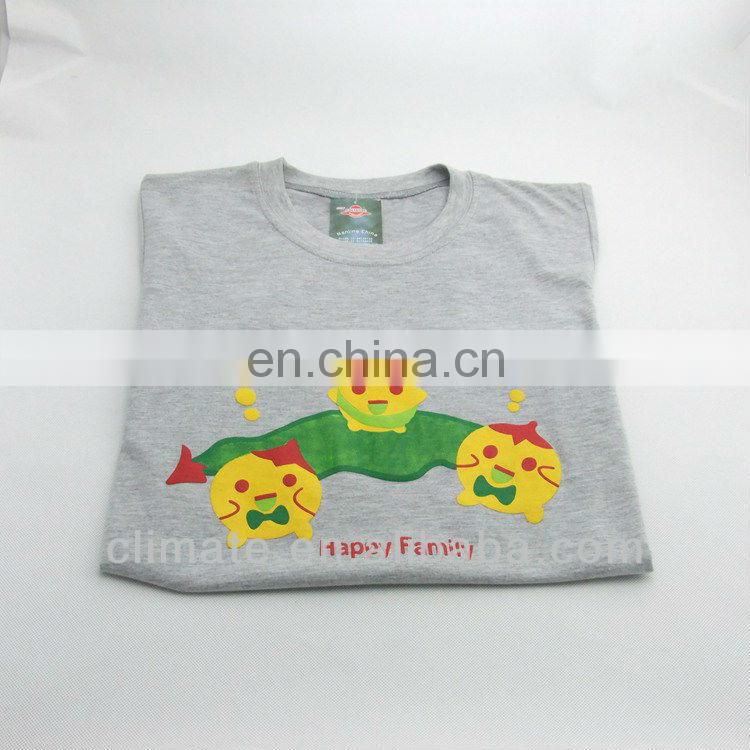 Soft cotton t-shirt with short sleeves,round neck casual wear