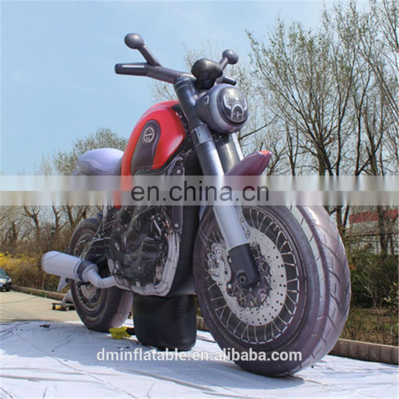 Cool custom replica model inflatable motorcycle model for advertising