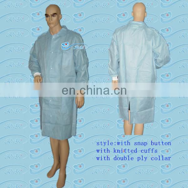 Disposable PE Visitor Clothes/PE Visitor Gown