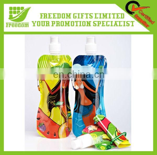 Hot Promotion Item Customized Logo Folding Water Bottle