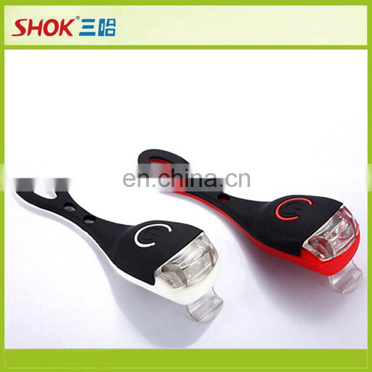 bicycle silicone led bike light/outdoor led bicycle light