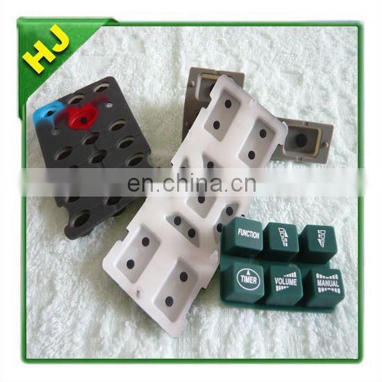 LCD adhesive silicone rubber keypads