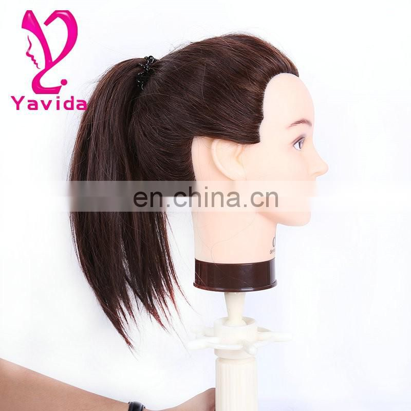 beautiful wholesale cosmetology mannequin heads/adjustable mannequin heads 100% human hair competition mannequin human hair