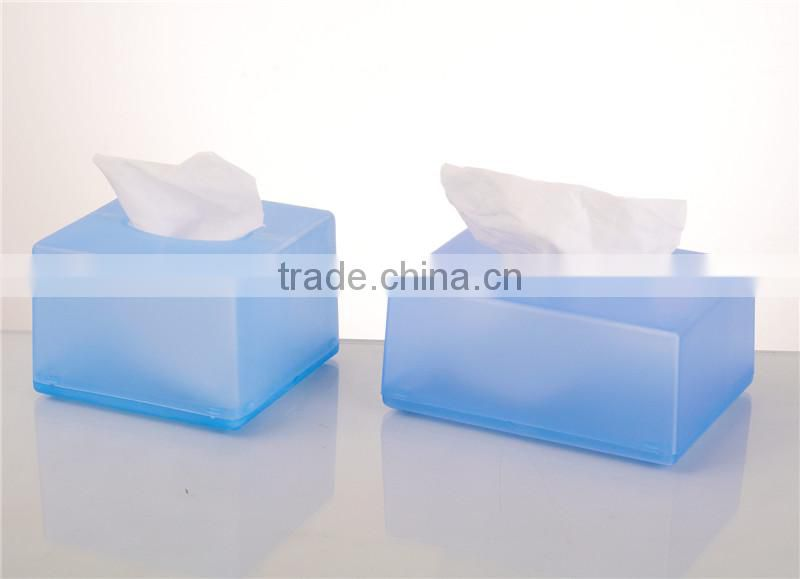 Cheap price new design plstic mini paper tissue box