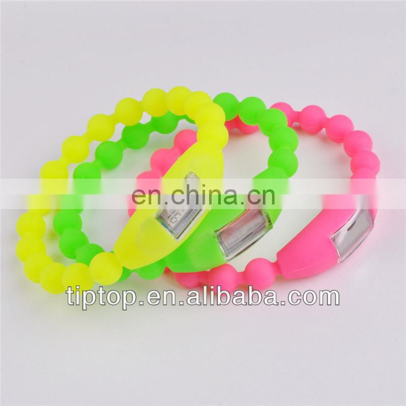 Promotional Customized Colorful Twist Silicone Bracelet