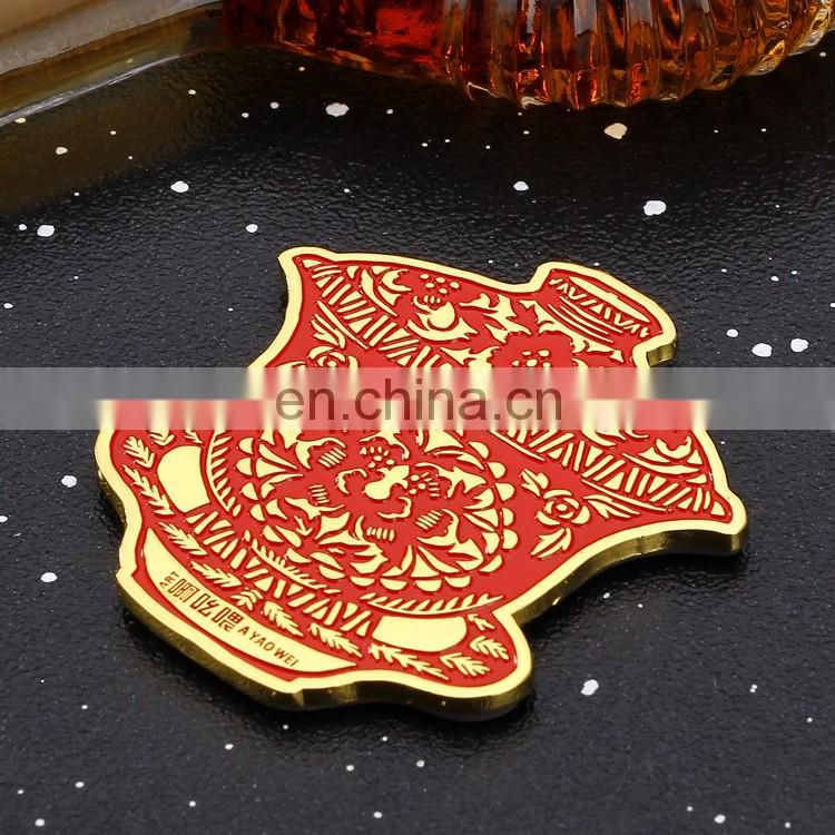 hot sale wholesale customized chinese red logo tea coaster with eva