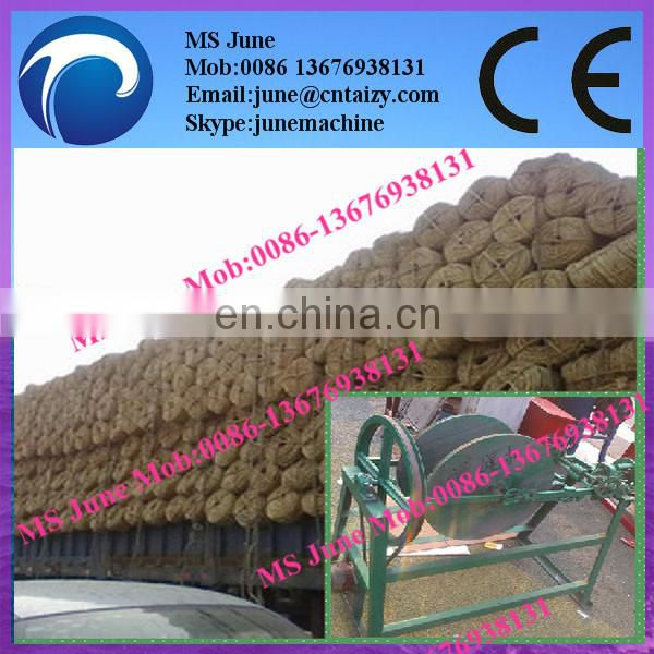 Semi Auto Rice Straw Rope Making Machine 008613676938131