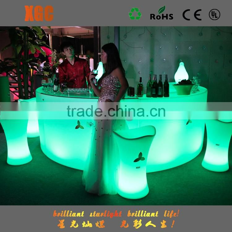 Hot selling led luminous bar for wedding/event/gatherings /rental