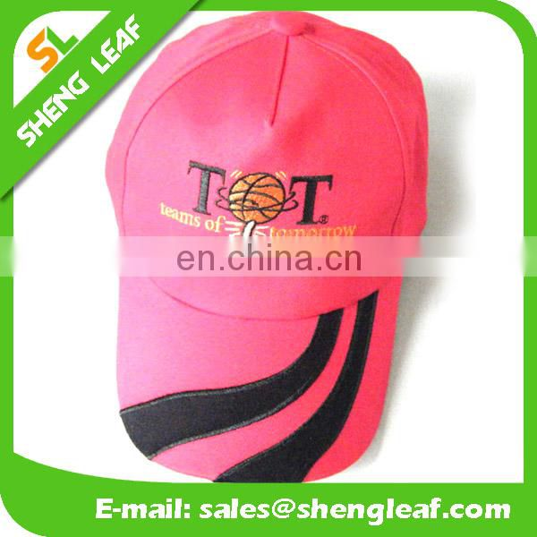 2016 customize of cotton baseball cap with emboridery logo