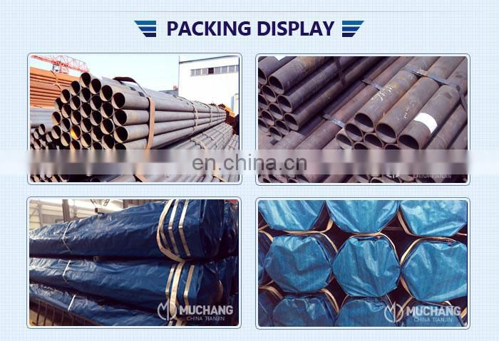 High quality Competitive Price Building Materials Galvanized ERW Steel Pipe