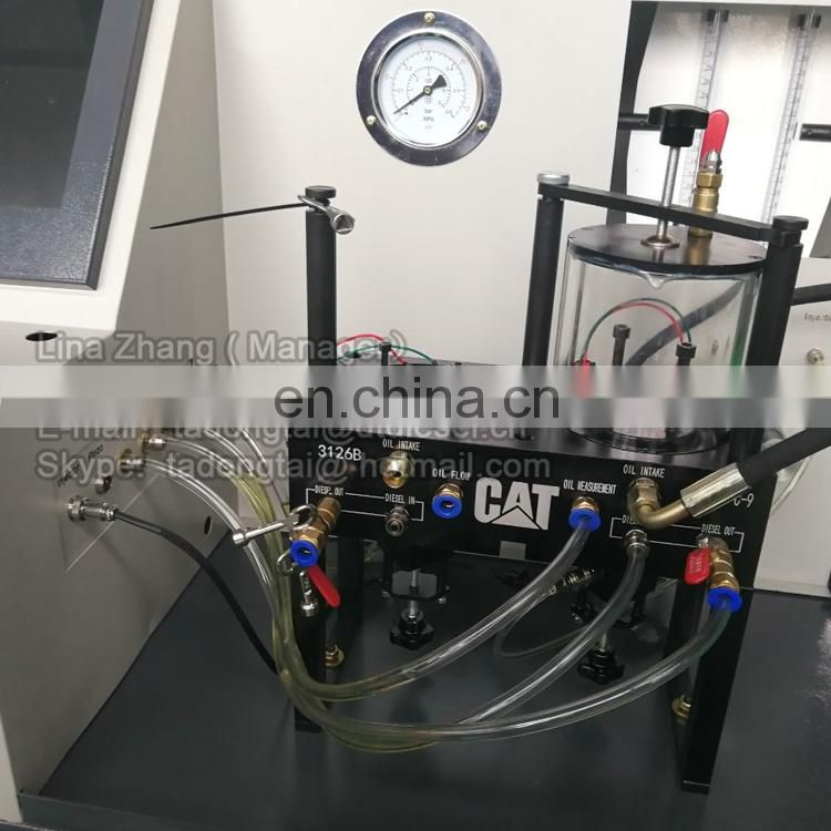 CAT4000L hydraulic pump test bench with inverter and original DRV