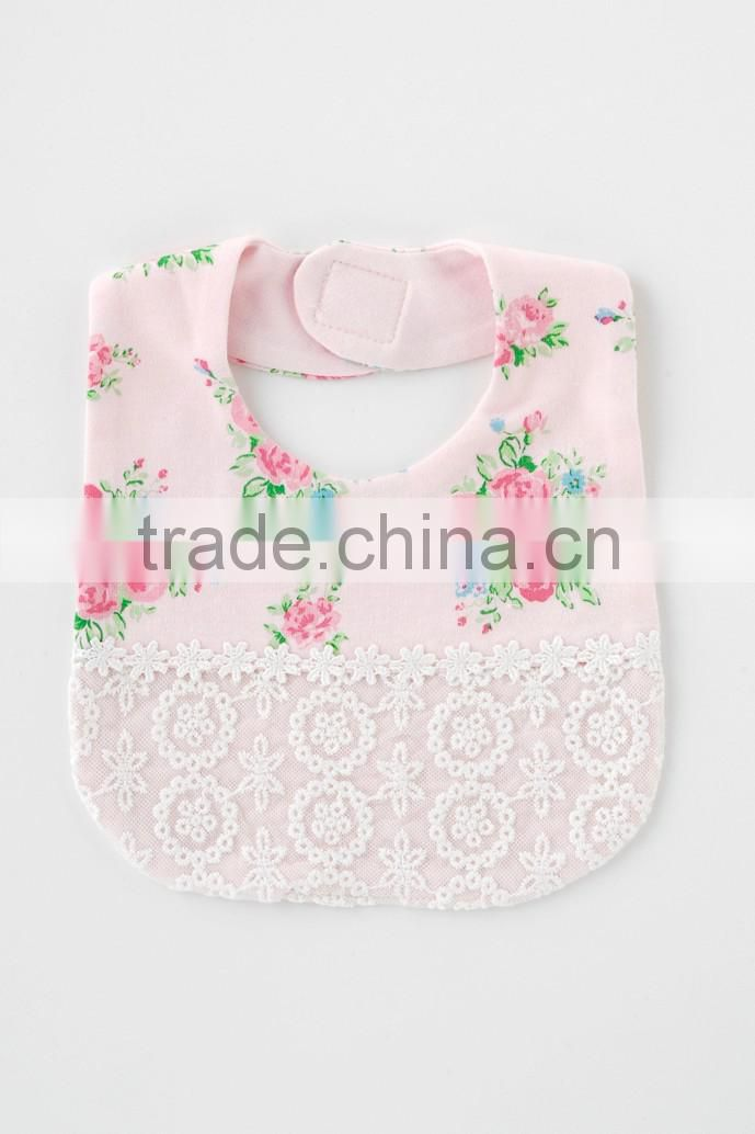 Japanese brand sweet girl wholesale cute baby bib for girl infant item children clothes kids wear newborn tools