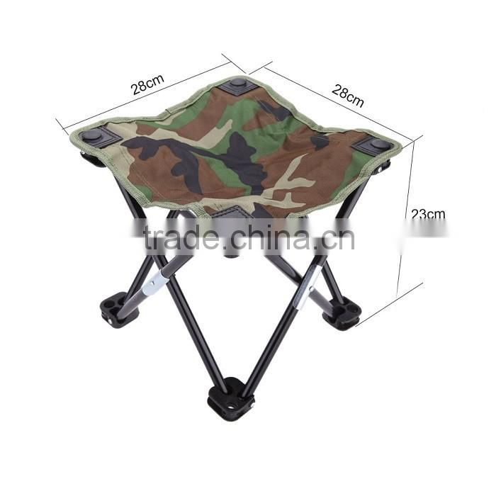 Camouflage Portable Folding Breathable Outdoor Camping Fishing Chair