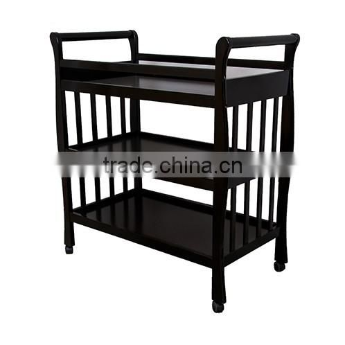 Baby Sleigh Change Table Wooden 3 Tier Change table