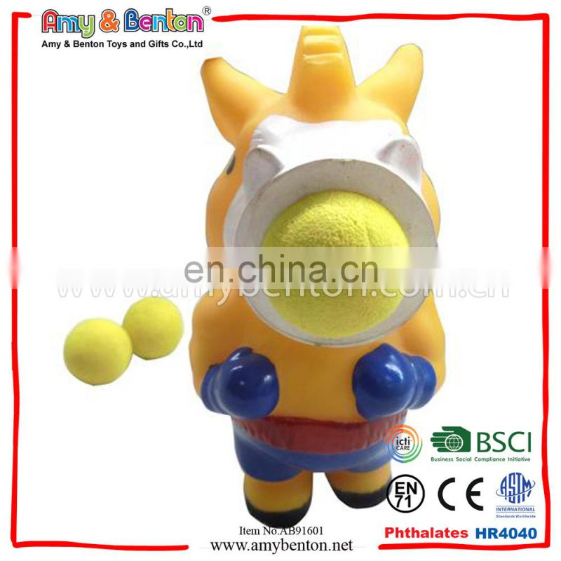 Wholesale New Design Animal Toy Evade Glue Horse Gunner Toy