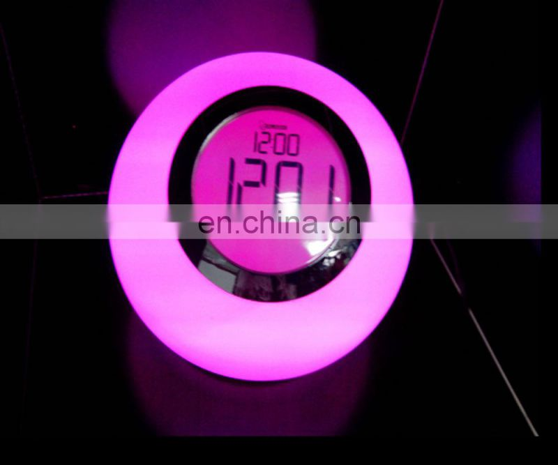 Hot sale LED romantic night lights rainbow night light touch night light