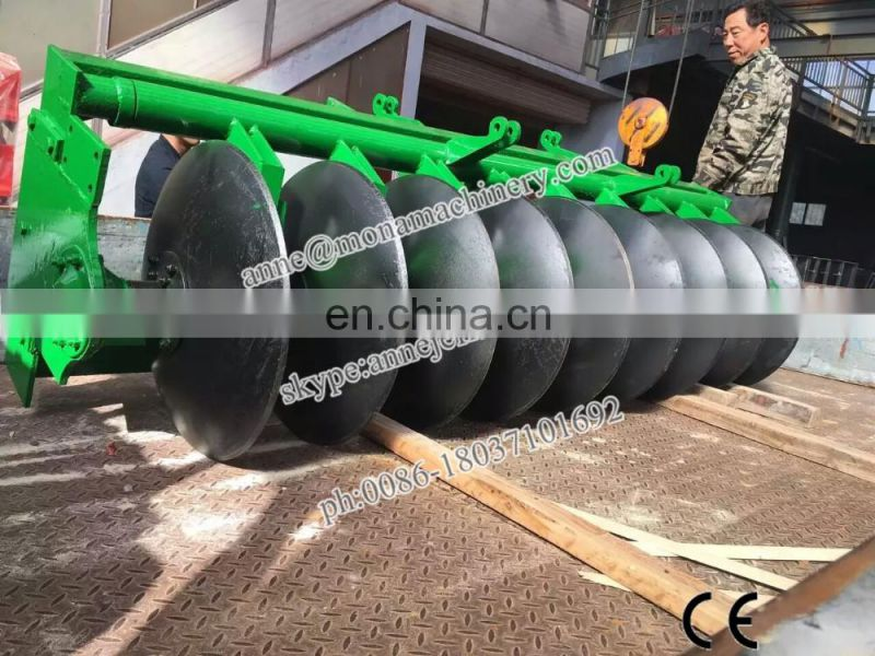 Good price of agricultural disc plough matched 18-160 HP tractors