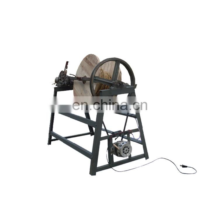 Hay Straw Rope Making Machine | Hay Straw Rope Knitting Machine | Automatic Straw Rope Spinning Machine Image
