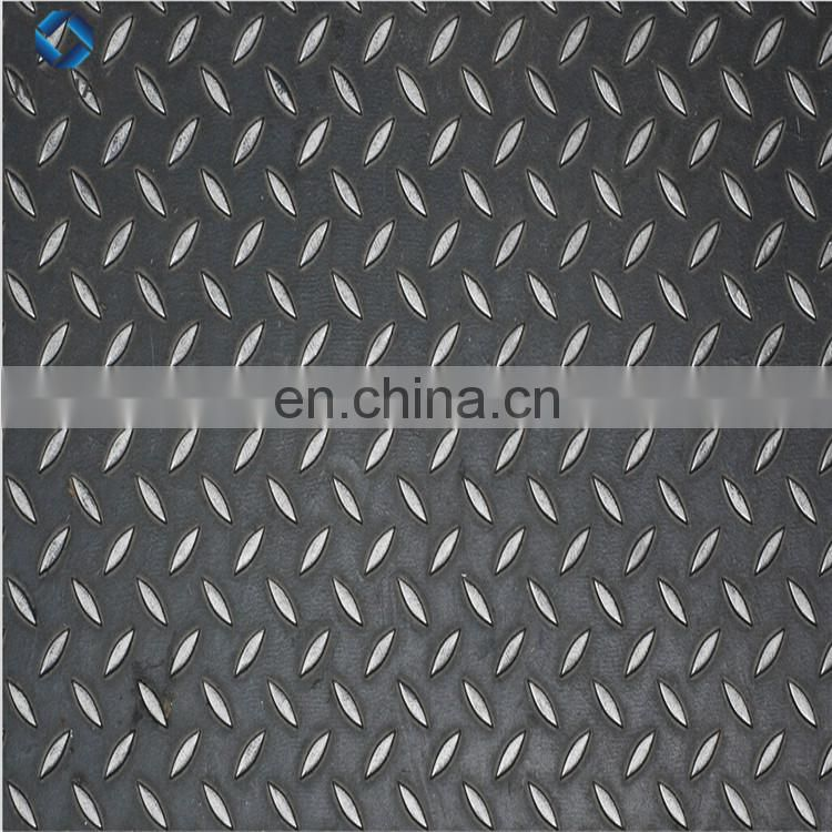 Q235 SS400 chequered plate 5mm 6mm aluminium checkered plate
