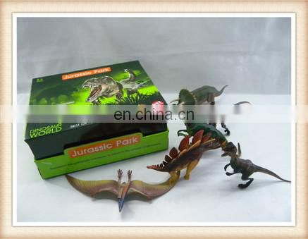 Kids educational plastic toy dinosaur