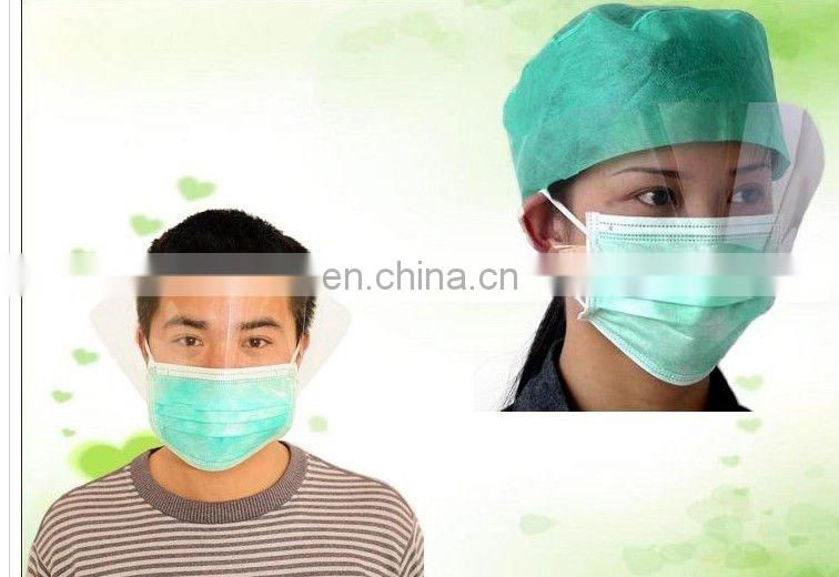 Disposable Anti virus mers ESD 2 ply 3 ply face mask with earloop, Homemade Anaesthesia Face Mask
